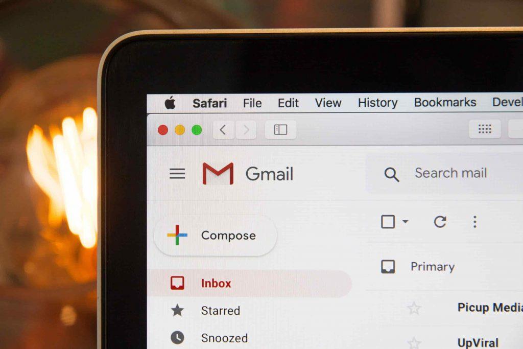 checking mail inbox